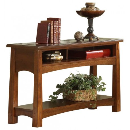 Craftsman Home Console Table Eaton Hometowne Furniture