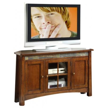 Craftsman Home Corner TV Console