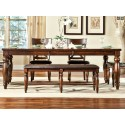 Kingston 6pc Dining Set with Bench Seating