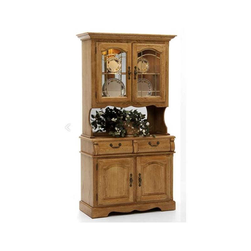 Classic Oak 42 Quot China Hutch Eaton Hometowne Furniture