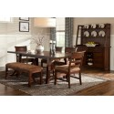 Bench Creek 6pc Dining Set