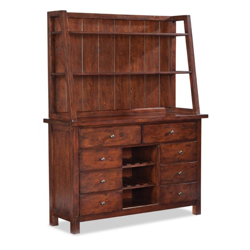 Bench Creek Hutch And Buffet Eaton Hometowne Furniture