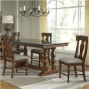 Andover Park Hi-Lo Trestle Dining Collection