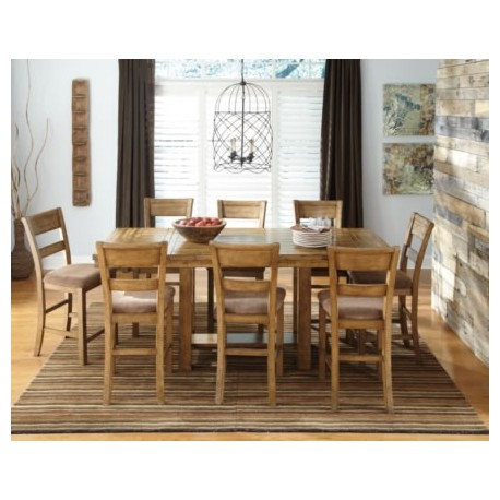 dining room dining collections krinden counter height 9pc dining