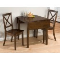 Taylor Brown Cherry 3 Piece Dining Set