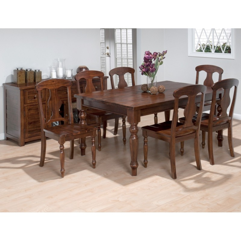 Urban Lodge 7pc Dining Room Group Eaton Hometowne