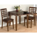 Caleb 3 Piece Drop-Leaf Table Set