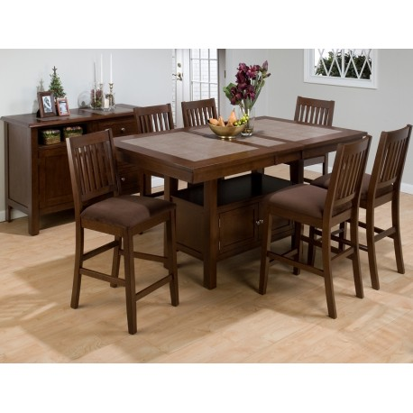 Caleb 7pc. Counter Height Dining Set