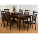 Legacy Oak 7pc. Table and Chair Set