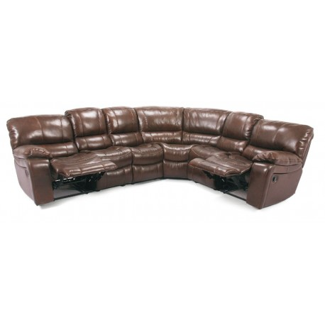 Cheers 8625 Leather Reclining Sectional