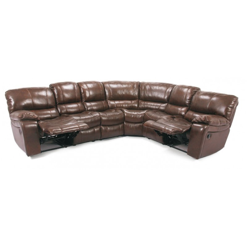 Cheers 8625 Leather Reclining Sectional Eaton Hometowne