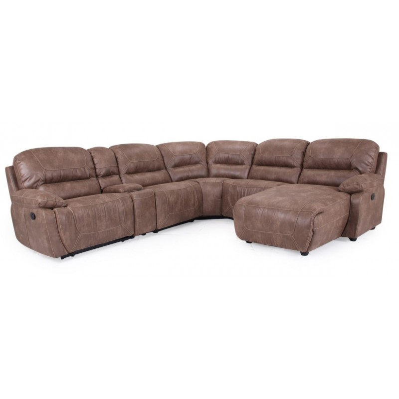 Cheers 9160 Reclining Sectional Eaton Hometowne