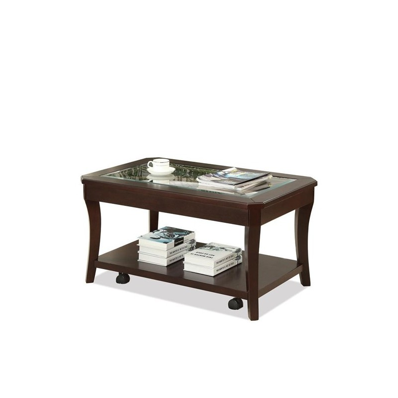 Coffee Table With Casters Home Design amp Architecture